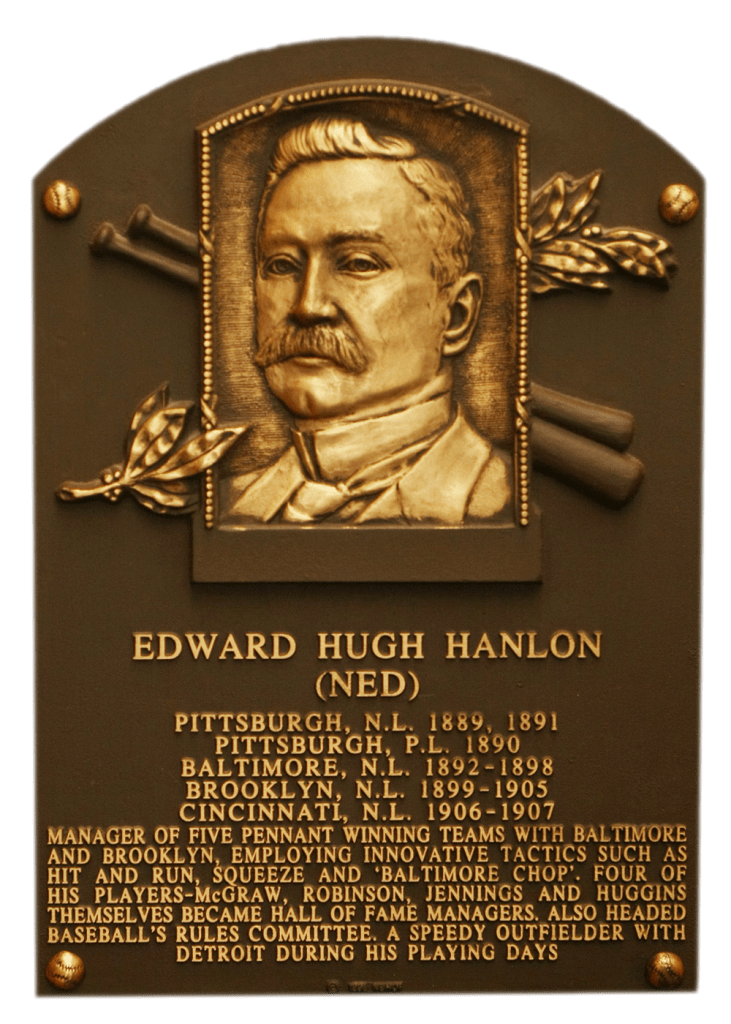 Ned Hanlon's HoF plaque
