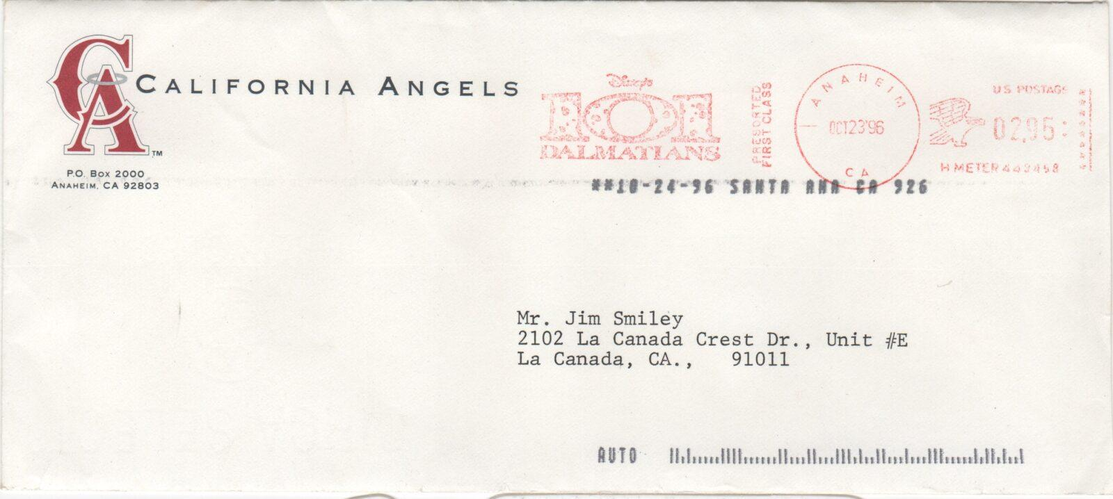 Buzzie bavasi cooperstown expert envelope for the bill bavasi letter about torborg sciox Gallery