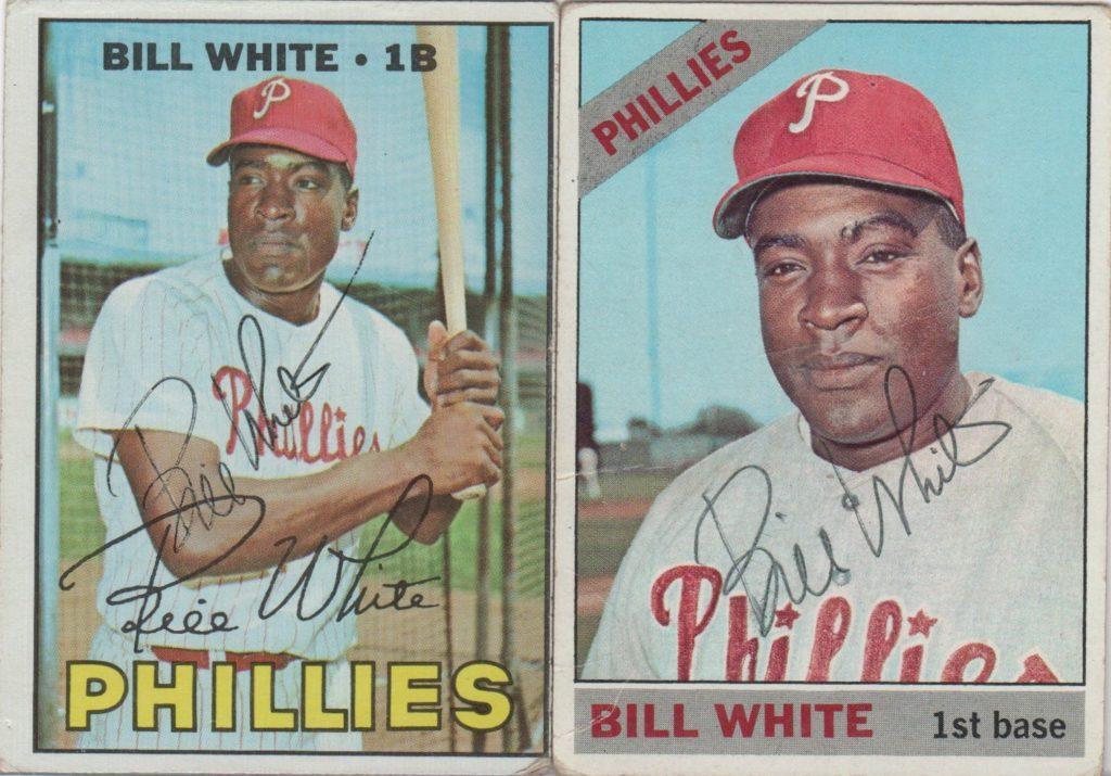 White played 3 seasons in Philadelphia