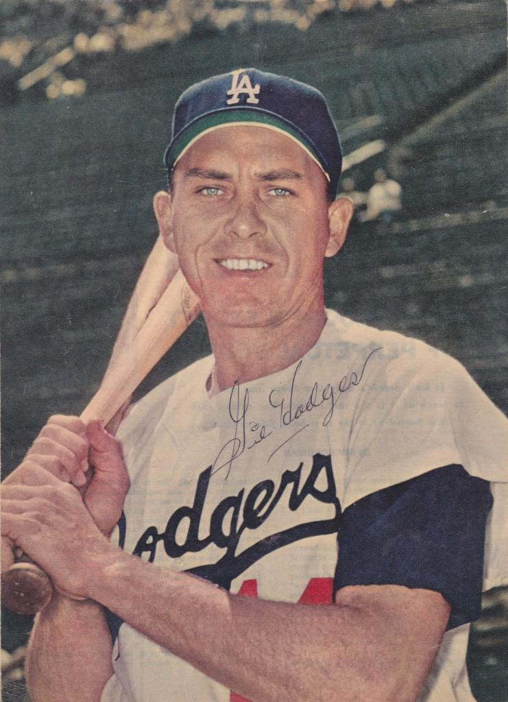Gil Hodges autographed photo from Sport Magazine