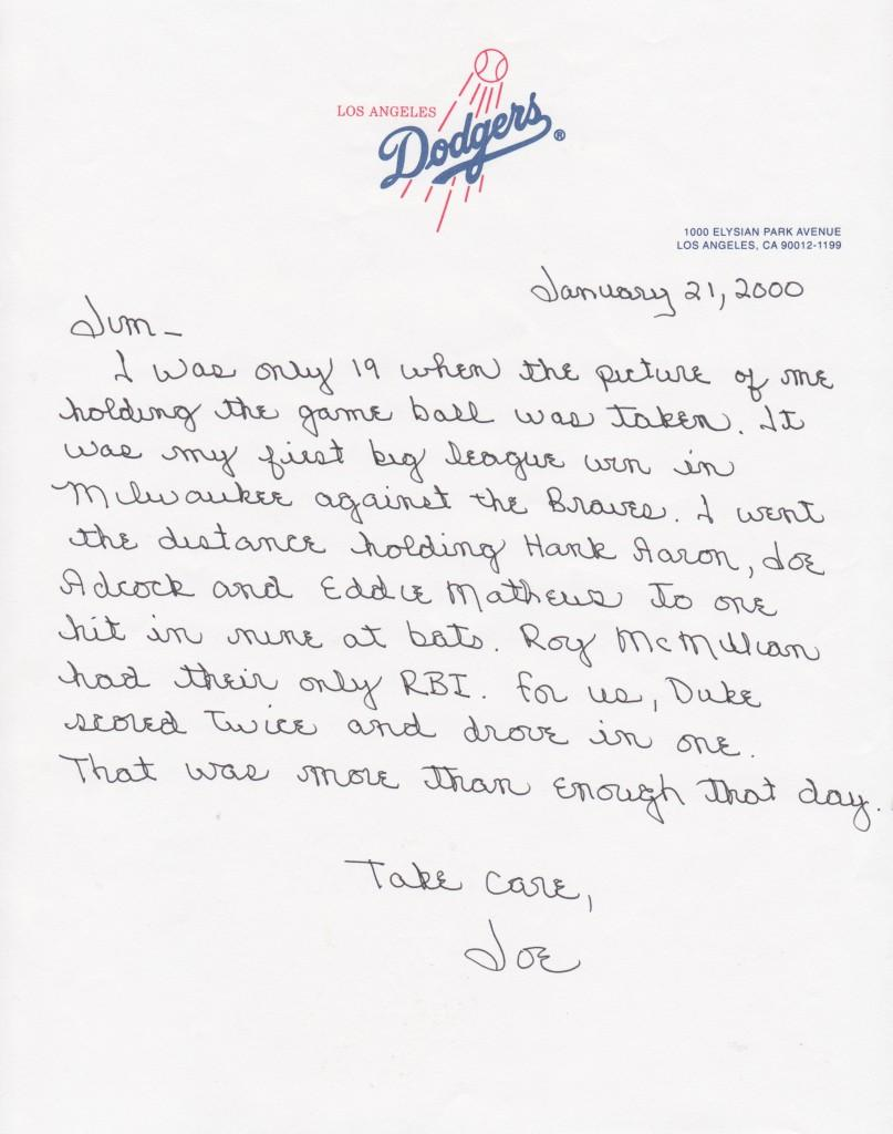 Moeller pens a letter about his first big league win
