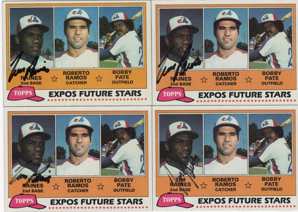 Starting with his rookie year in Montreal, Tim Raines made 7 straight all star teams