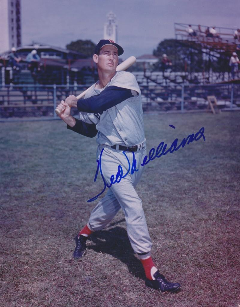 Ted Williams, the player forever linked to Carroll Hardy