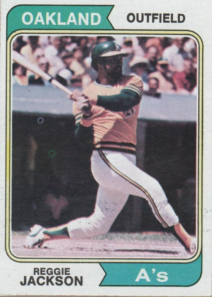 1974 Topps card