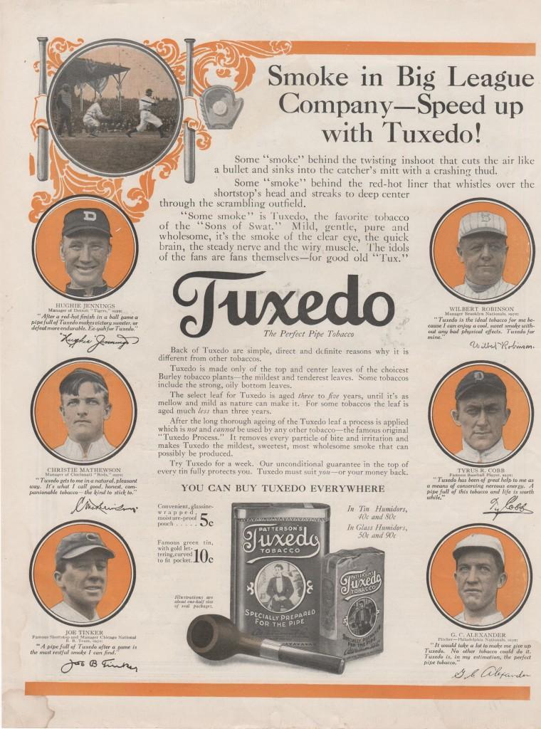 Alexander says Tuxedo is,