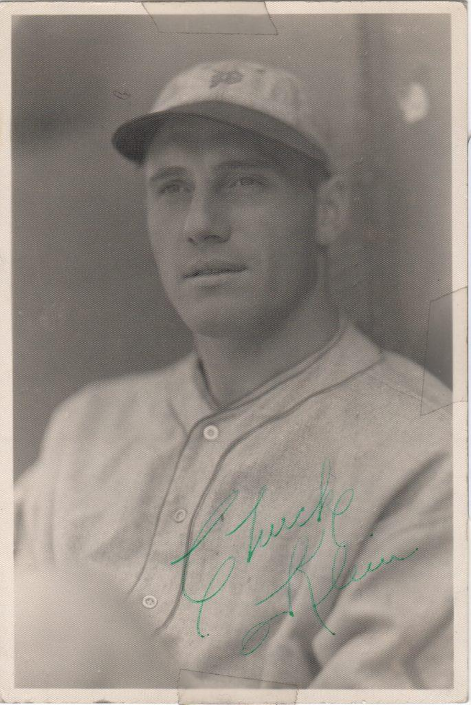 Chuck Klein was one of baseball best in the early 1930s