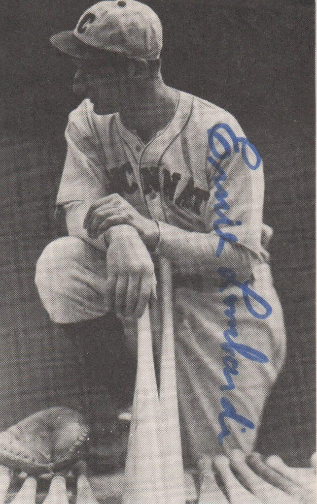 Small photo of the Hall of Fame catcher