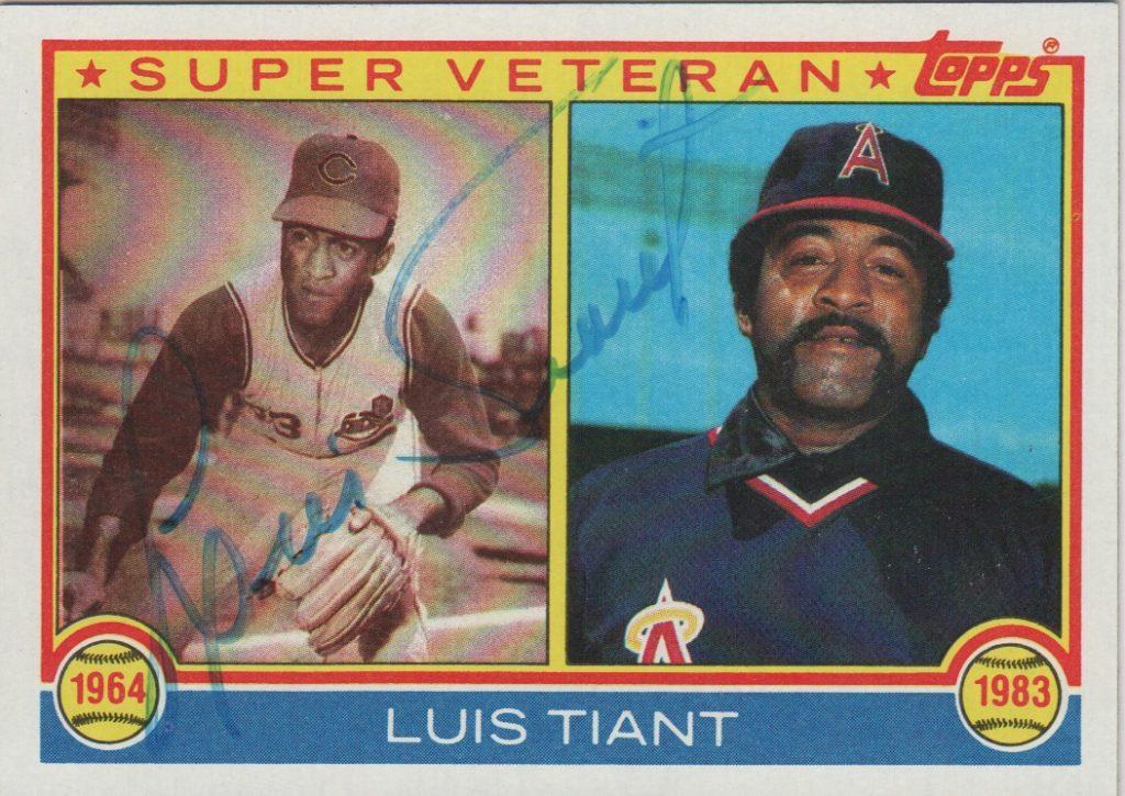1983 Luis Tiant Super Veteran