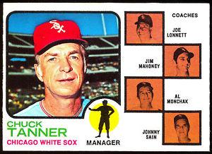 The contract in the previous images allowed Sain to appear on this baseball card