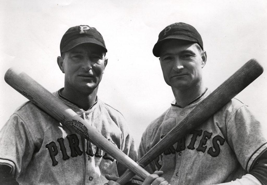 Photo of the fearsome brother combination of Lloyd and Paul Waner