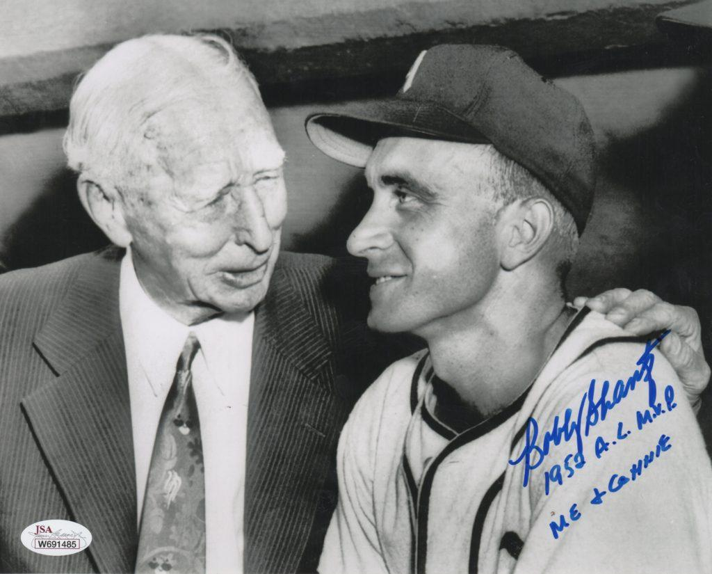 Connie Mack was Bobby Shantz' first big league manager
