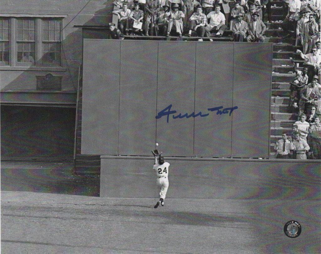 Willie Mays' most memorable catch came in Game 1 of the 1954 World Series