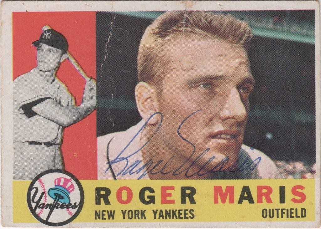 Roger Maris earned back-to-back Most Valuable Player Awards in 1960 and '61