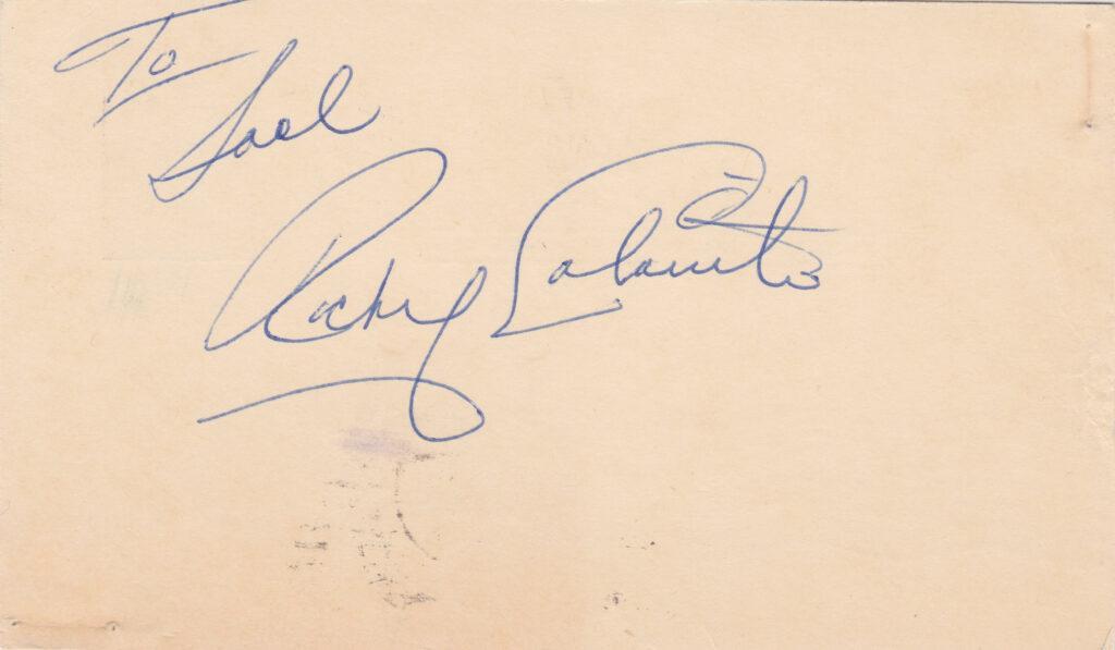 Rocky Colavito found immediate success at the big league level in 1955