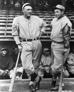 Philadelphia sluggers Chuck Klein and Jimmie Foxx