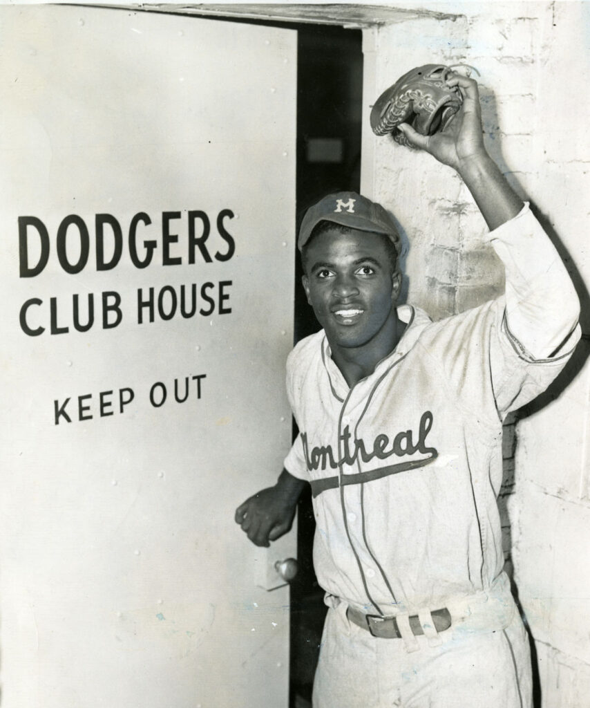 Jackie Robinson Brooklyn Dodgers