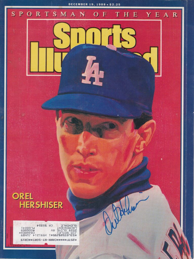 Sports Illustrated named Hershiser their Sportsman of the Year in 1988; is he a candidate for Cooperstown?