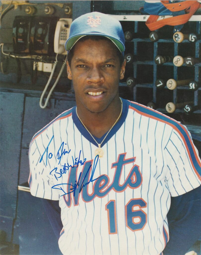Dwight Gooden captured the attention of the baseball world as a 19-year old Rookie of the Year
