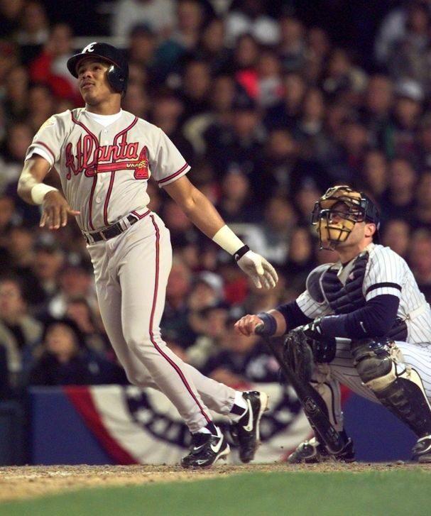 Andruw Jones World Series homer