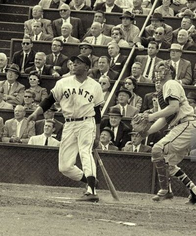 Willie Mays of the San Francisco Giants