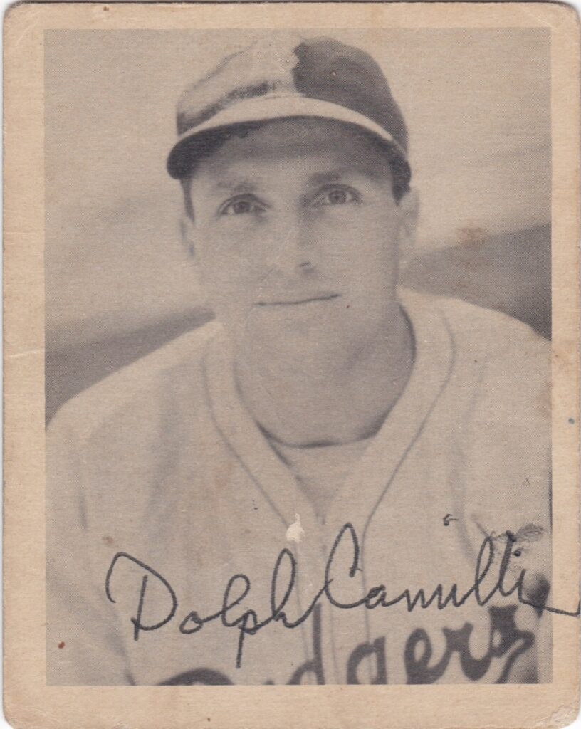 In 1941 Dolph Camilli led the Dodgers to their first pennant in more than two decades
