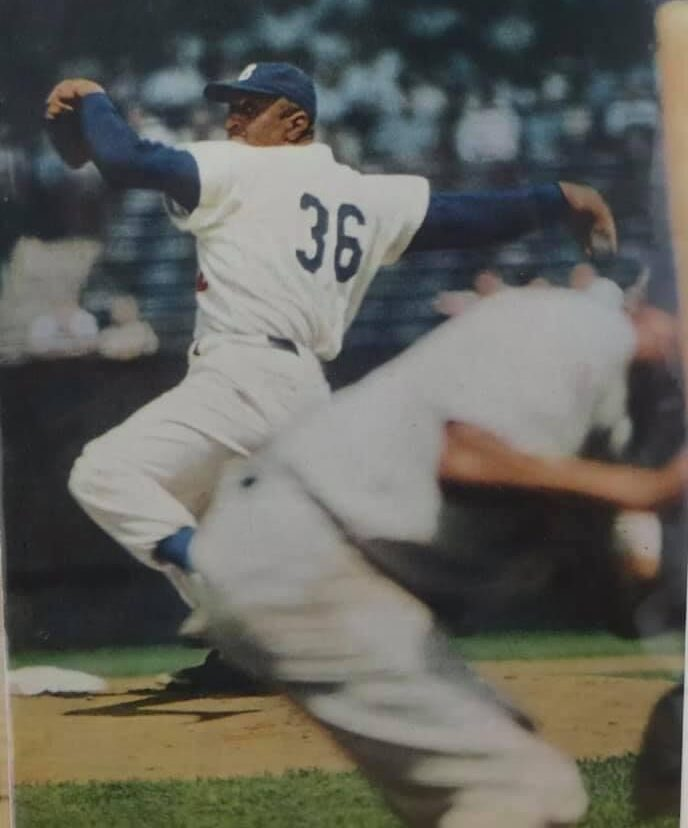 Brooklyn Dodgers Don Newcombe