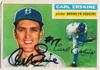 Erskine's 1955 Dodgers gave Brooklyn its only World Series title