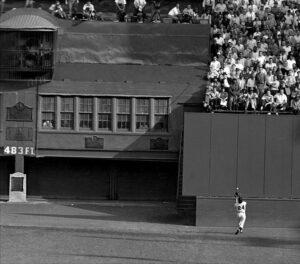 Willie Mays catch