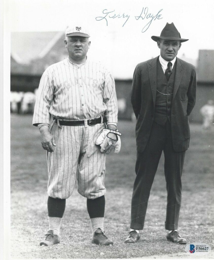 John McGraw set the mark for career ejections; Giants captain Larry Doyle took over in his absence